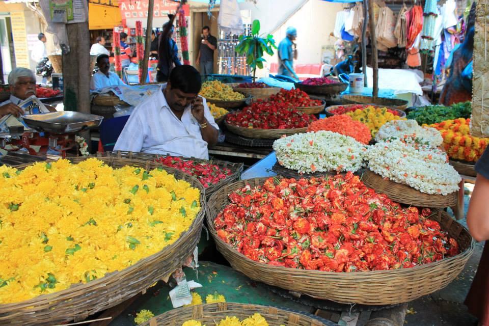 fiori mercato bangalore