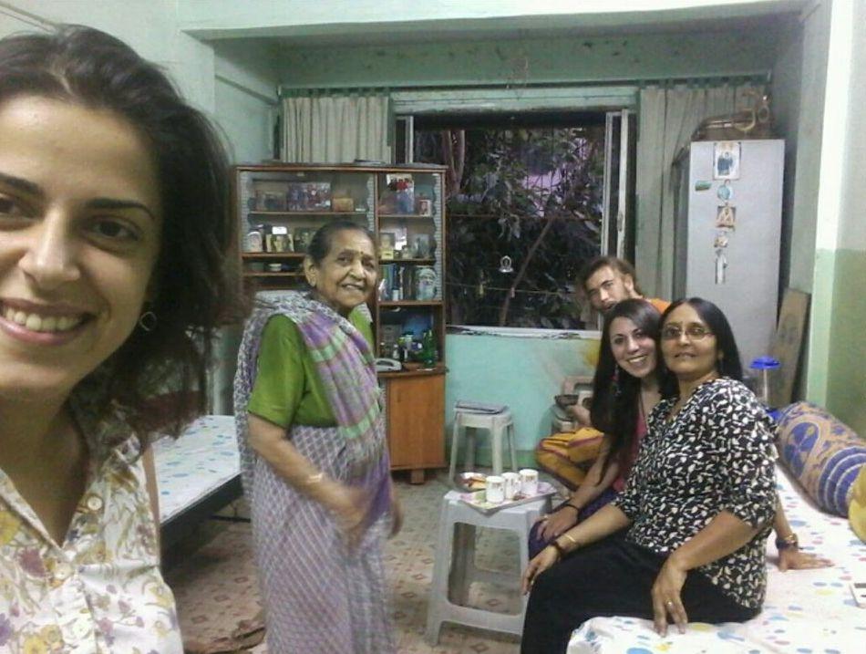 Casa di Chetna a Pune con amici