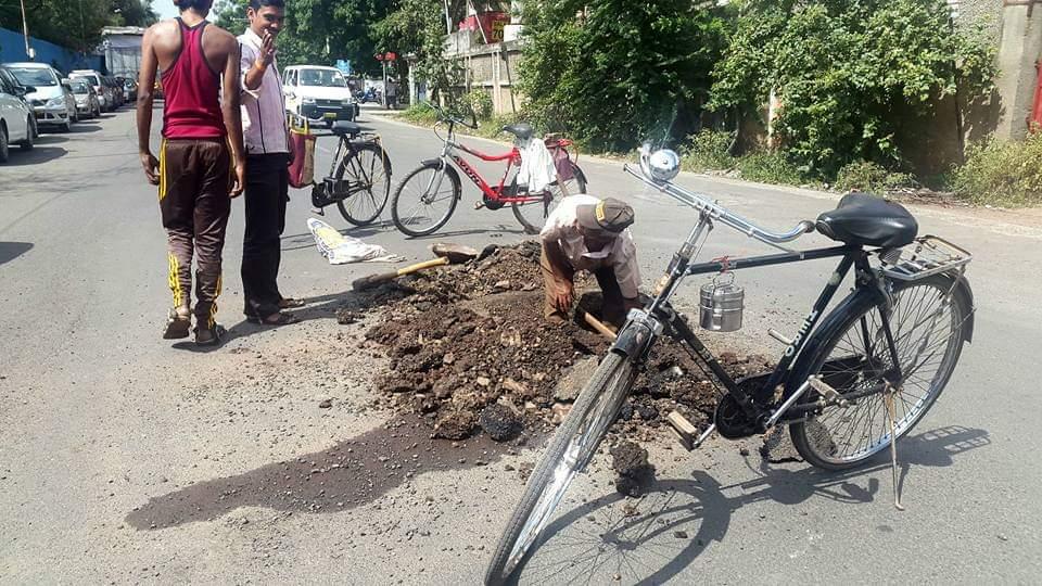 strada india bloccata