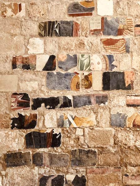 affreschi abbazia cerrate