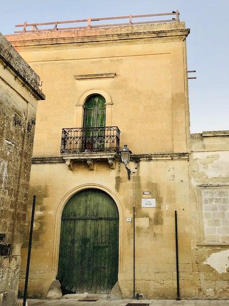 centro storico acaya