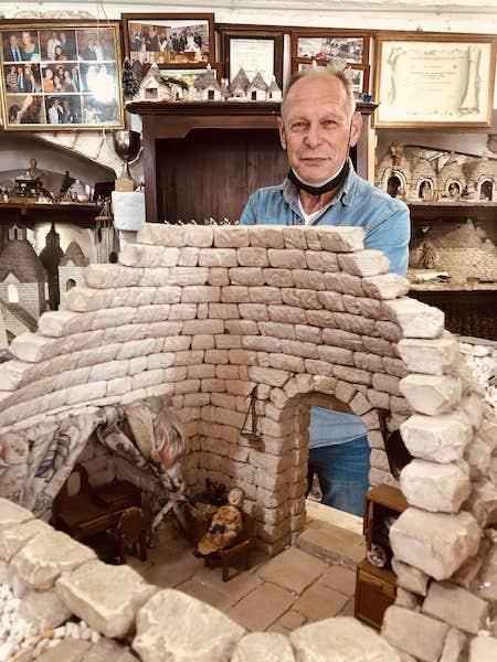trulli miniatura maffei artigiano
