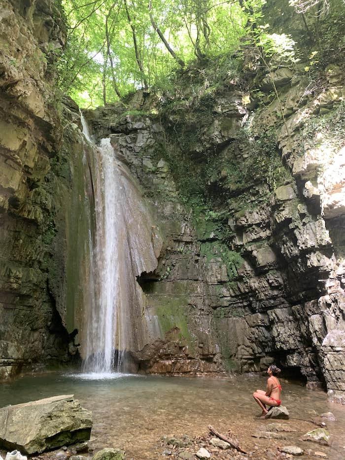 cascate del tuorno basilicata