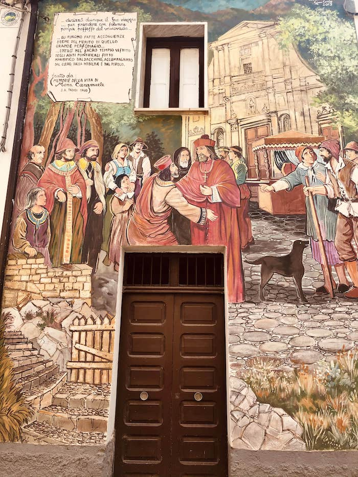 murales sant'angelo le fratte